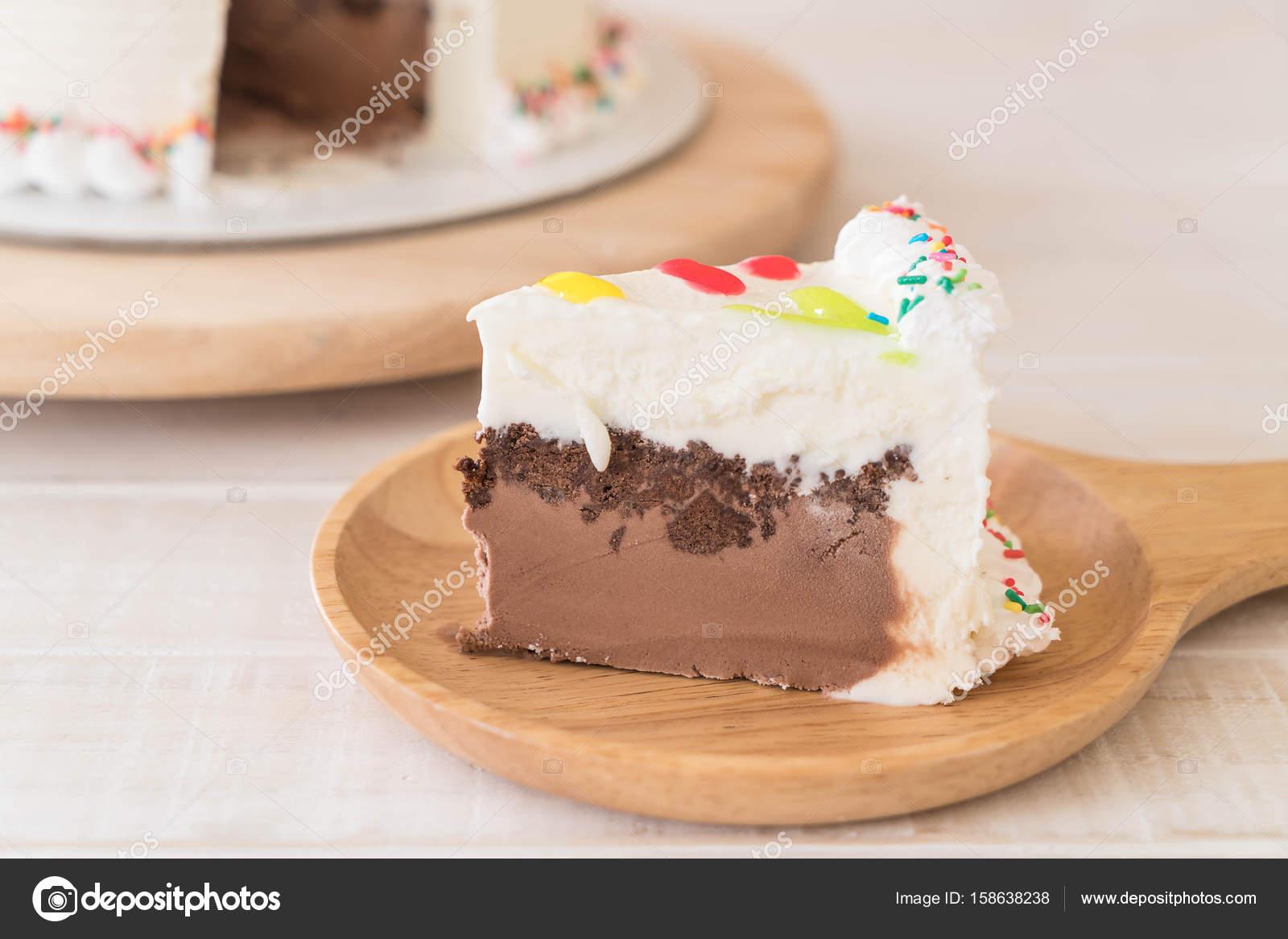 Happy Birthday Cake On Table Stock Photo Topntp 158638238