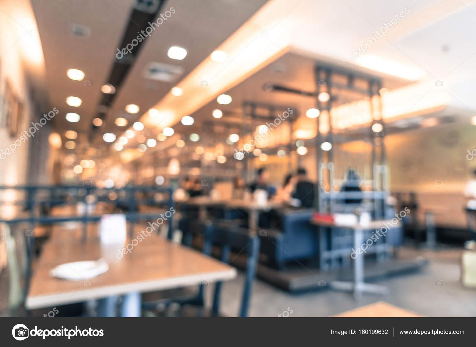 Resumen blur en restaurante — Fotos de Stock © topntp #160199632