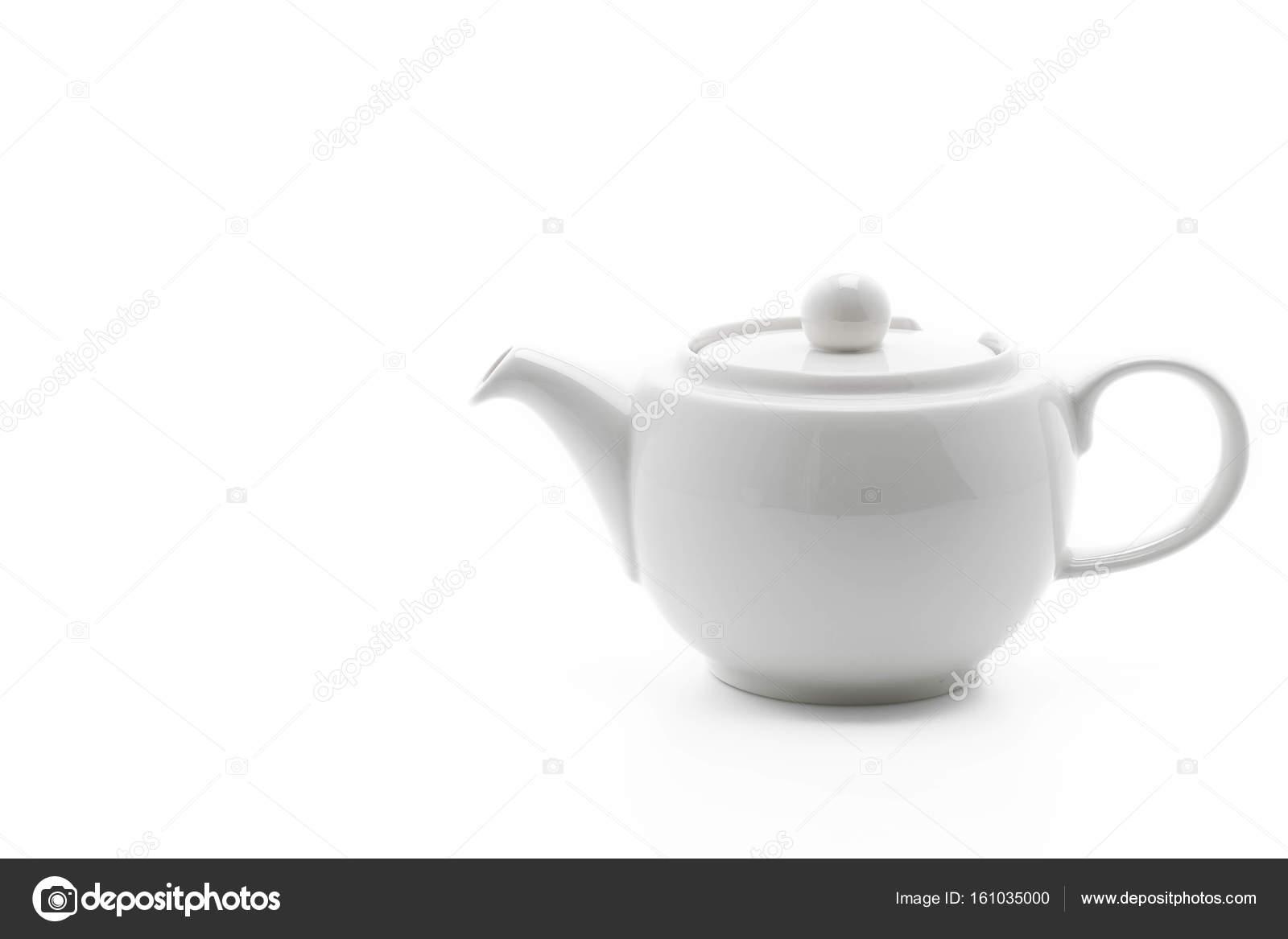 Weiße Teekanne weiße teekanne stockfoto topntp 161035000