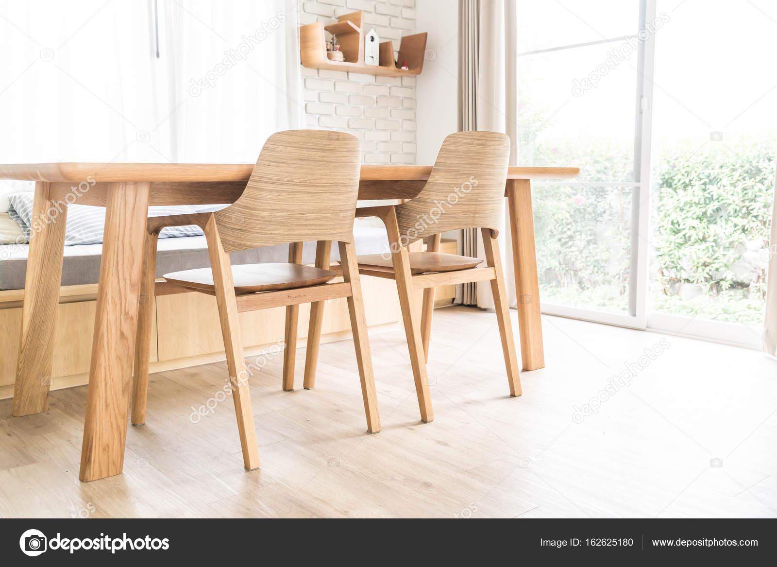 Ess Tisch Innendekoration — Stockfoto © topntp #162625180
