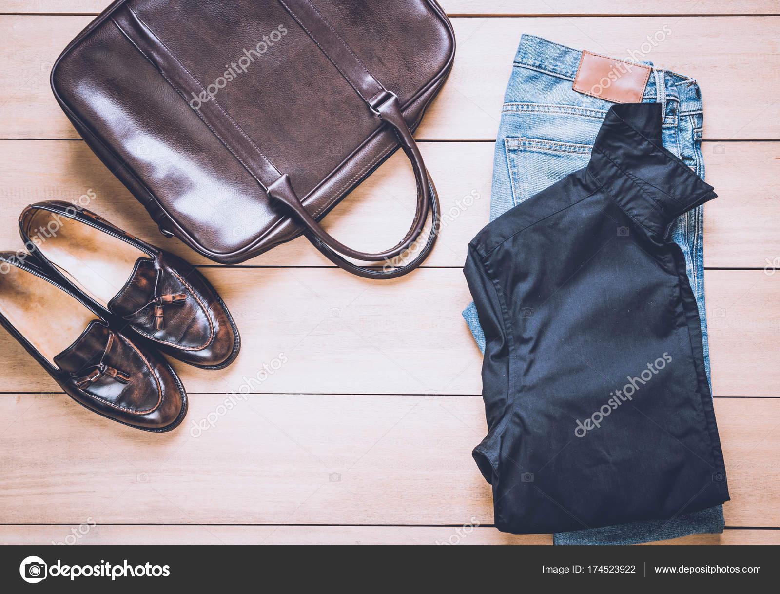 845ed00f404b Όμορφη μόδας Ανδρικά casual ρούχα ένδυσης - vintage αποτέλεσμα φίλτρο —  Εικόνα από ...