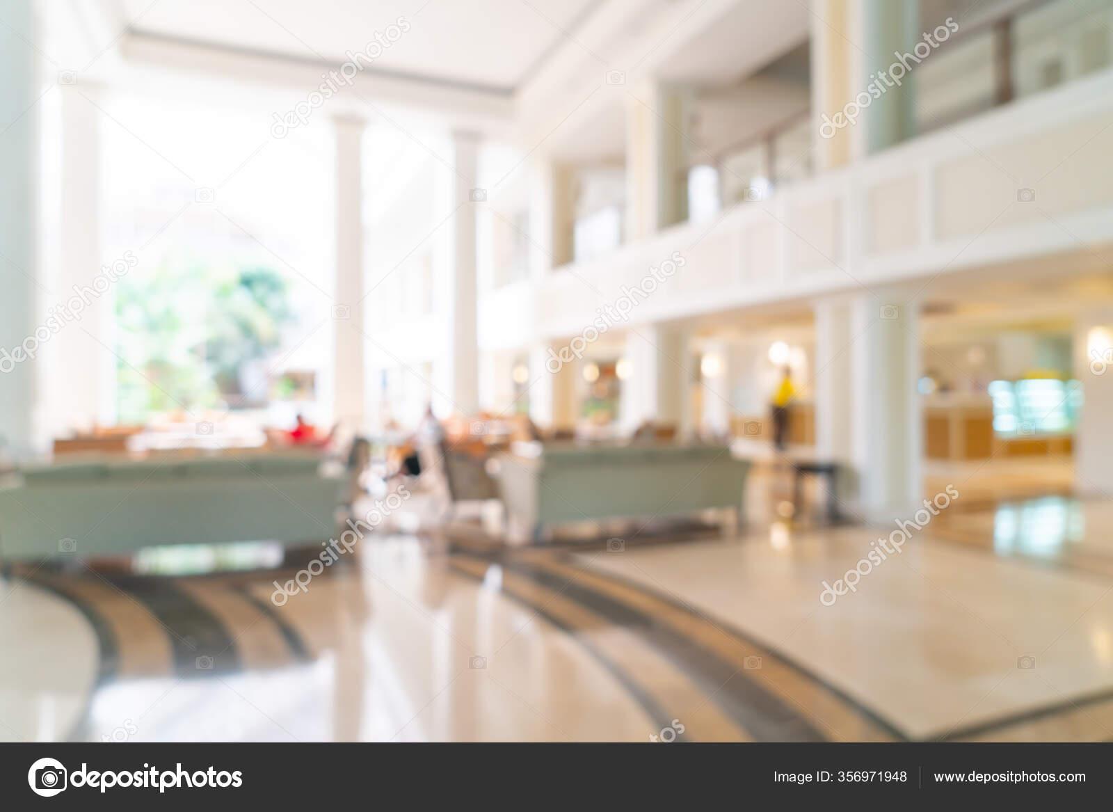 Abstrato Borrao Hotel Luxo Lobby Lounge Para Fundo Stock Photo C Topntp 356971948