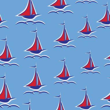 Scarlet sails. Yacht.