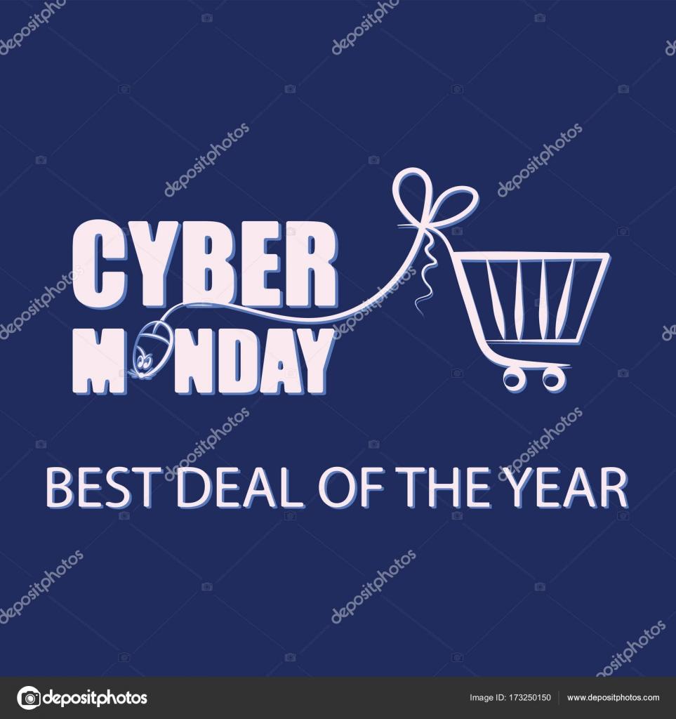 Siber Pazartesi Pc Ve Karanlık Bir Arka Plan üzerinde Alışveriş