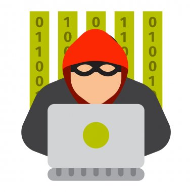 Internet safety icon isolated
