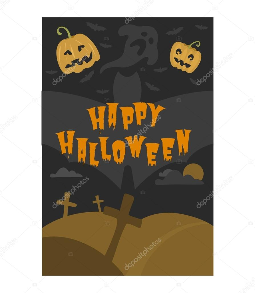 Vetor cartes de convite de halloween vetor de stock vectorshow vector design de convite de festa de ilustrao com emblema modelo de cartes de convite de halloween tipogrficas design da capa de halloween vetor stopboris Image collections