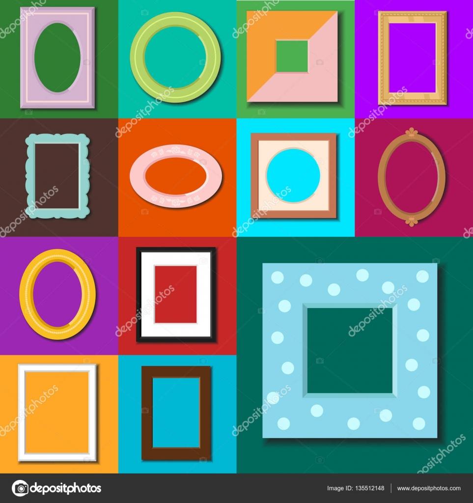 Foto Rahmen Vector isoliert — Stockvektor © VectorShow #135512148