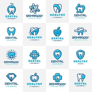 vector dental icon.
