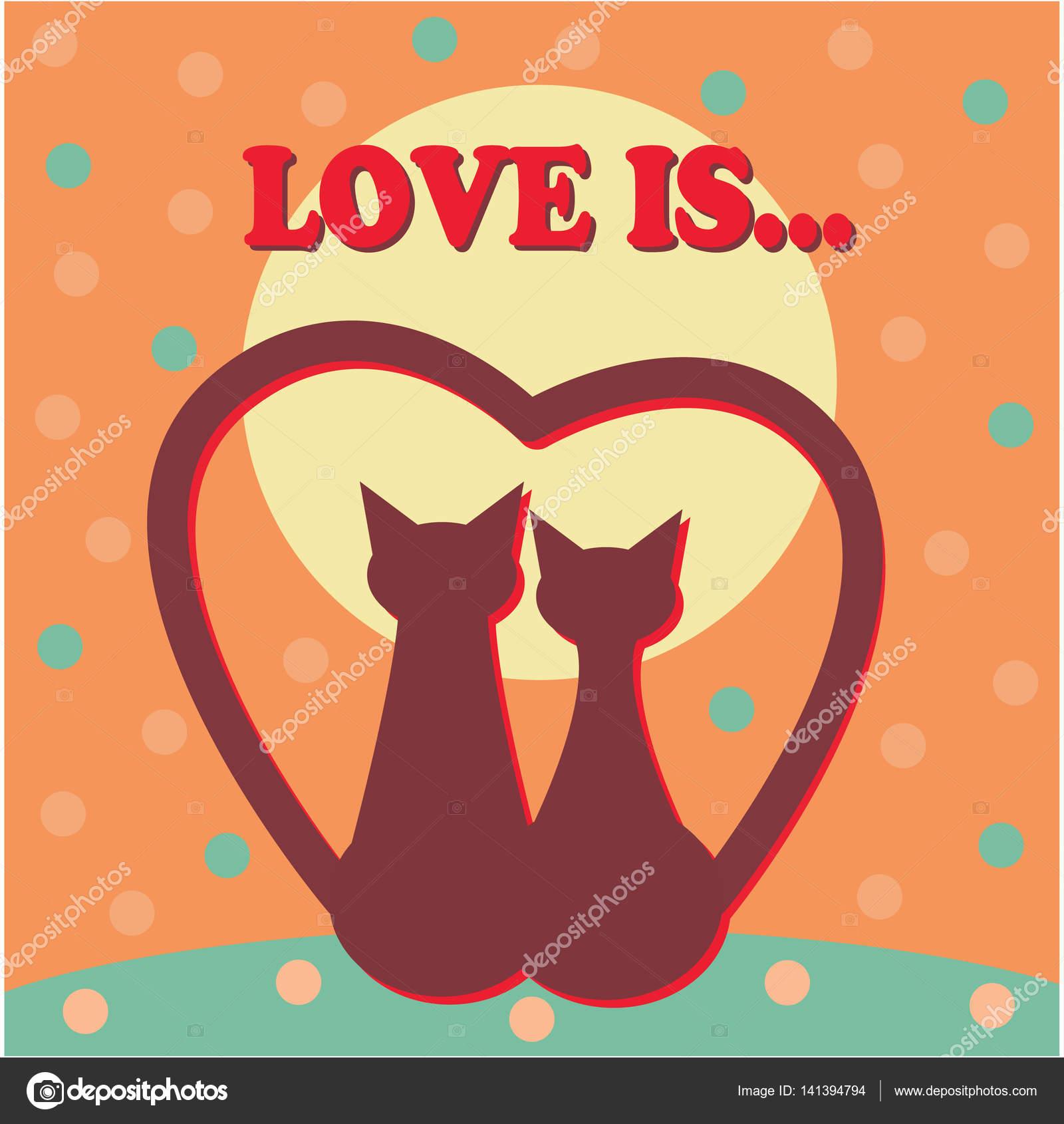 Valentinstag Karten Vorlage Vektor — Stockvektor © VectorShow #141394794