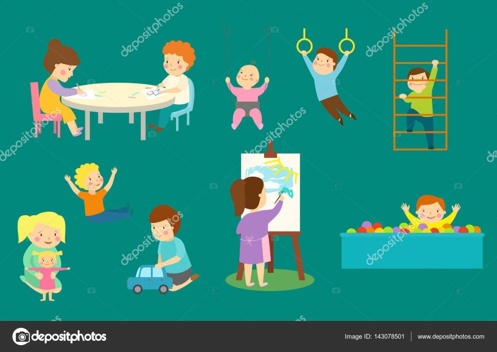 Sala de juegos infantil con luz muebles decoraci n for Decoracion casa con ninos