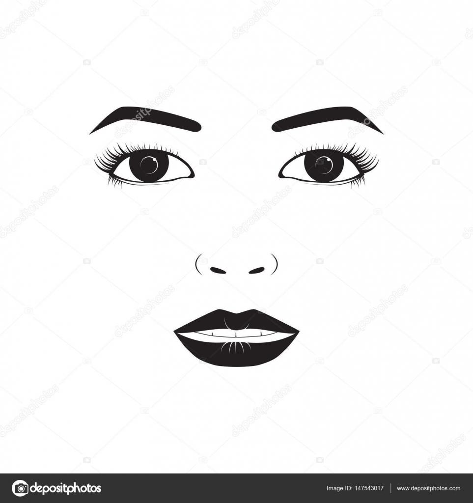 Girl Emotion Face Laugh Cartoon Vector Illustration And Woman Emoji