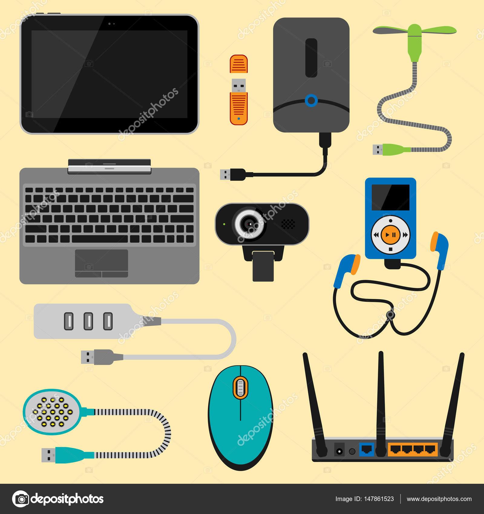 Elektronische Geräte Symbole Technik Elektronik Multimediageräte ...