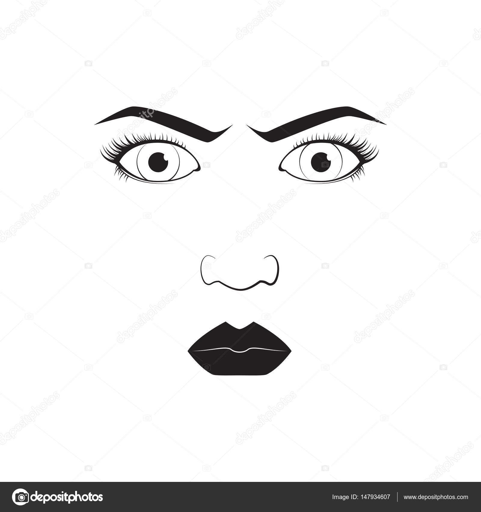 Girl emotion face angry cartoon vector illustration and woman girl emotion face angry cartoon vector illustration and woman emoji icon cute symbol character human expression sign female avatar tongue feeling buycottarizona Images