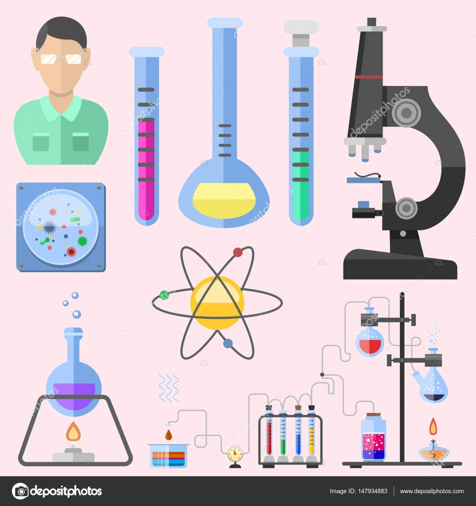 Medical Laboratory Technician Symbol Lab Symbols Test Medical Laboratory Scientific Biology Design Molecule Microscope Concept And Biotechnology Science Chemistry Icons Vector Illustration Stock Vector C Vectorshow 147934883