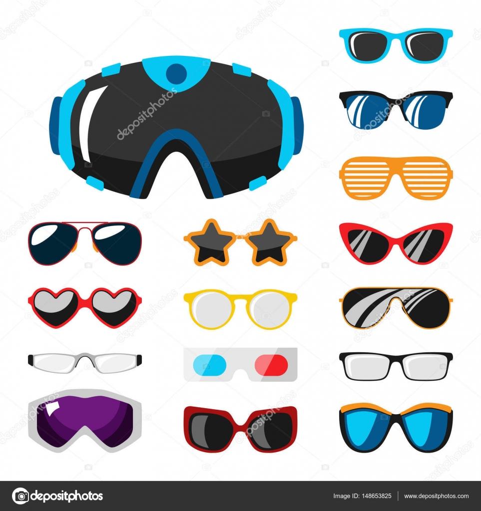 Mode-Set Sonnenbrillen Zubehör Sonne Brille Kunststoffrahmen moderne ...