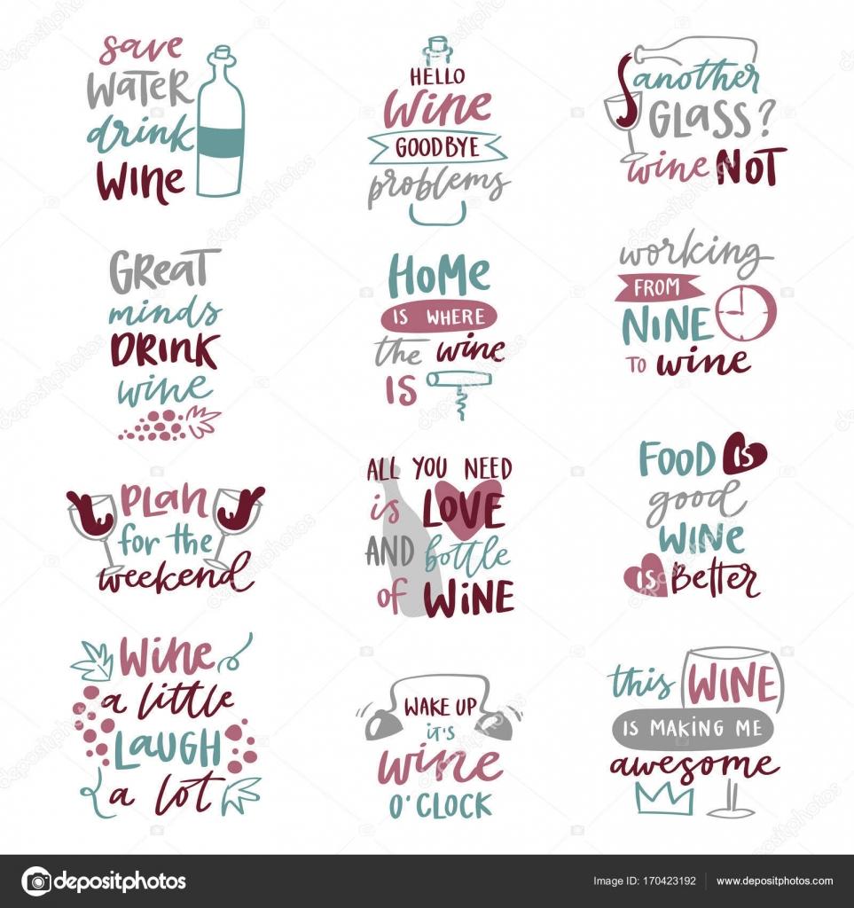Populares Frases de bebida de álcool de vinho amor letras frases do texto  UN98