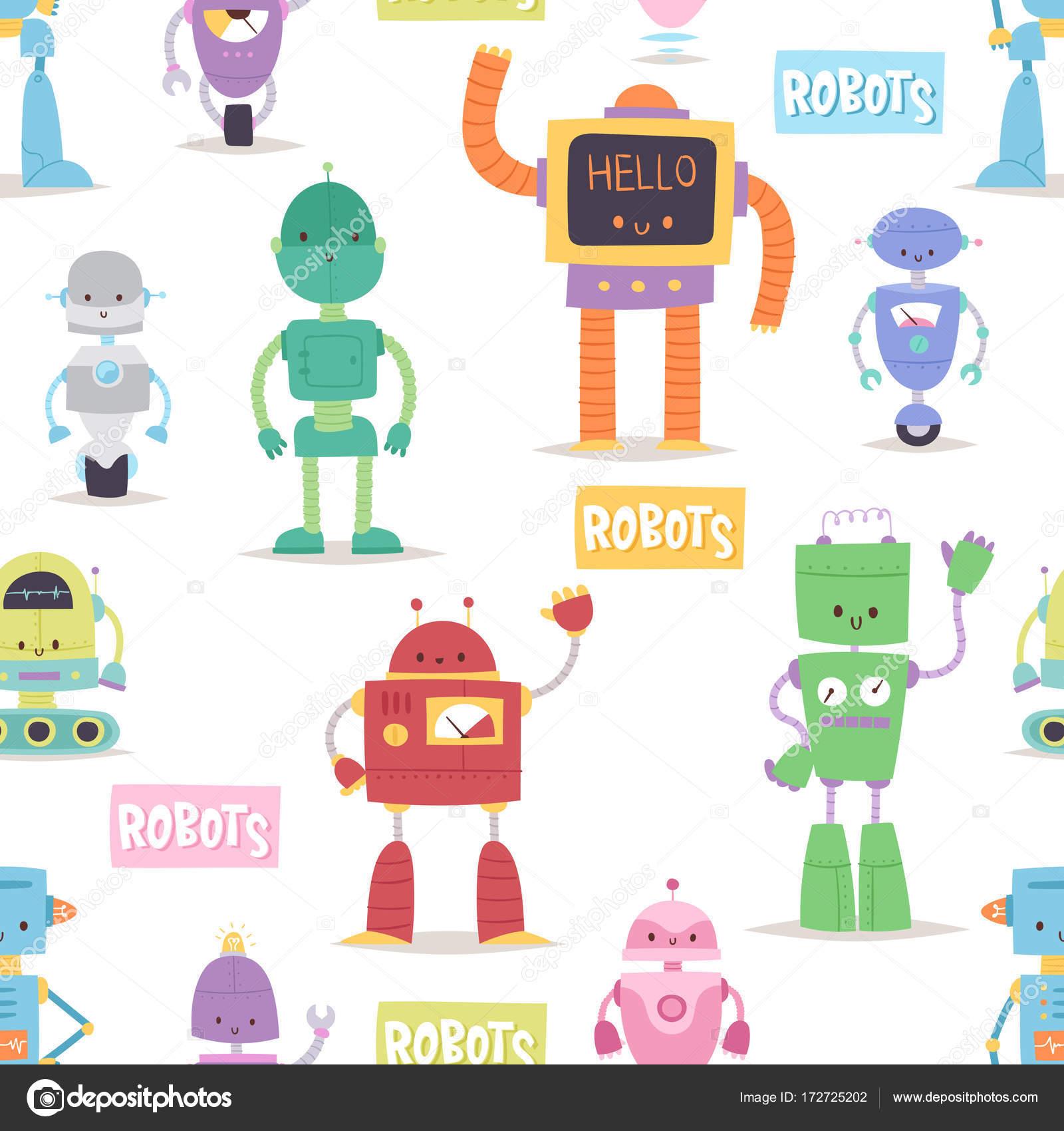 Robots And Transformer Androids Cartoon Toys Character Robotics