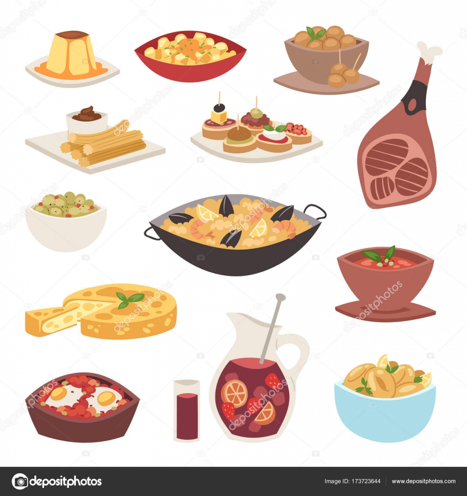 Spanien Küche Küche traditionelle Gerichte Gericht Rezept spanische ...