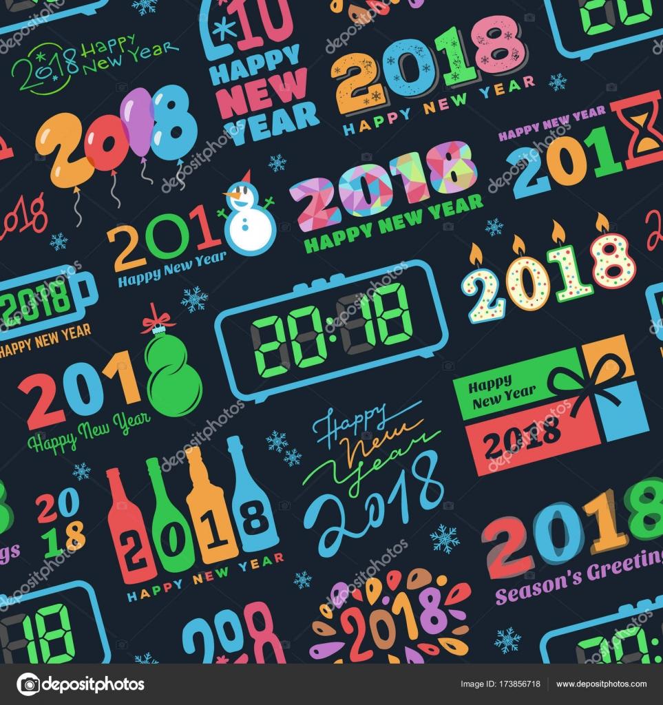 kalendar svatku Kalendář nový rok 2018, Vánoční kalendář svátků textu logo tisk  kalendar svatku