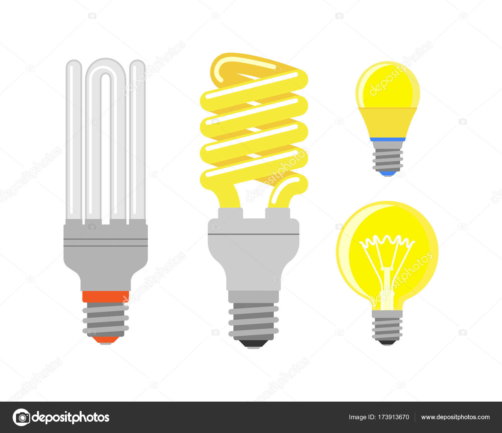 interior brainstorming illustration depositphotos light and lamp design electricity idea bright vector bulb cartoon flat isolated stock electric invention creative