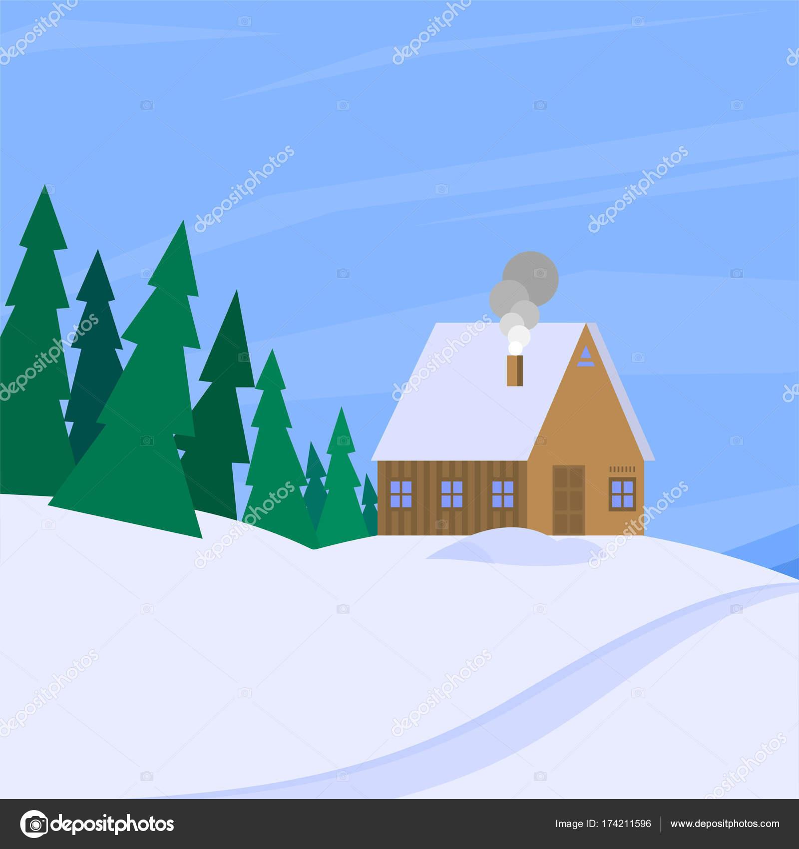 Cool Wallpaper Mountain Christmas - depositphotos_174211596-stock-illustration-winter-landscape-with-christmas-tree  2018_257659.jpg