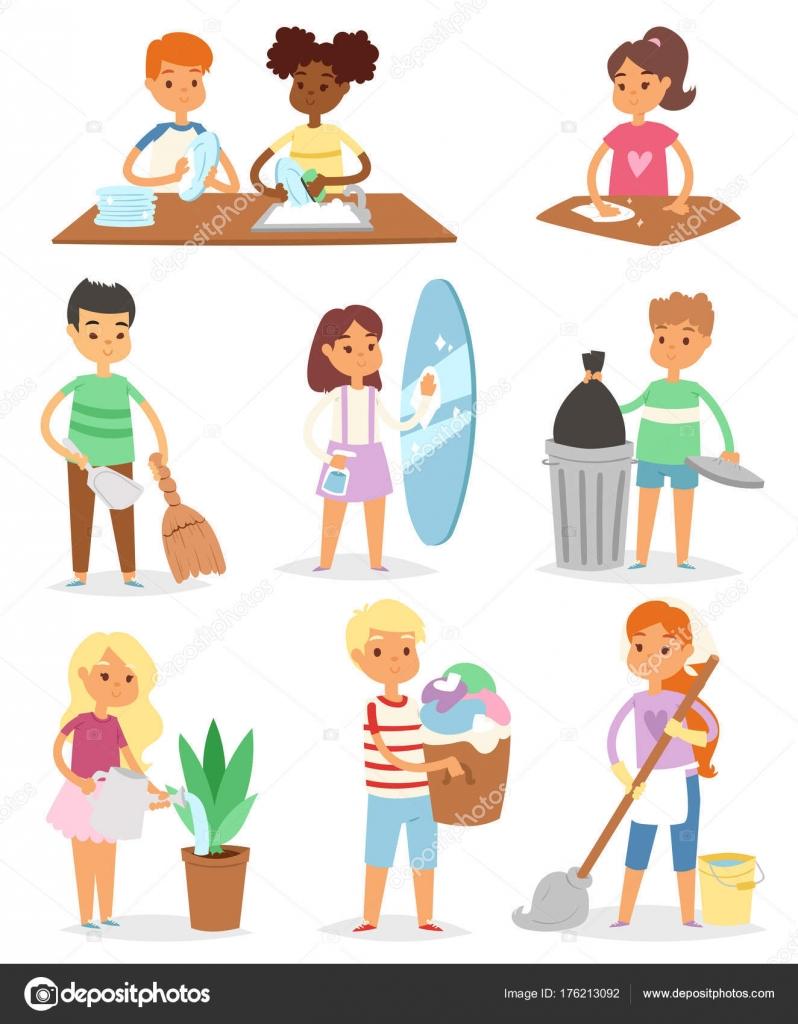 Imágenes: personas haciendo labores domesticas | Limpieza de ...
