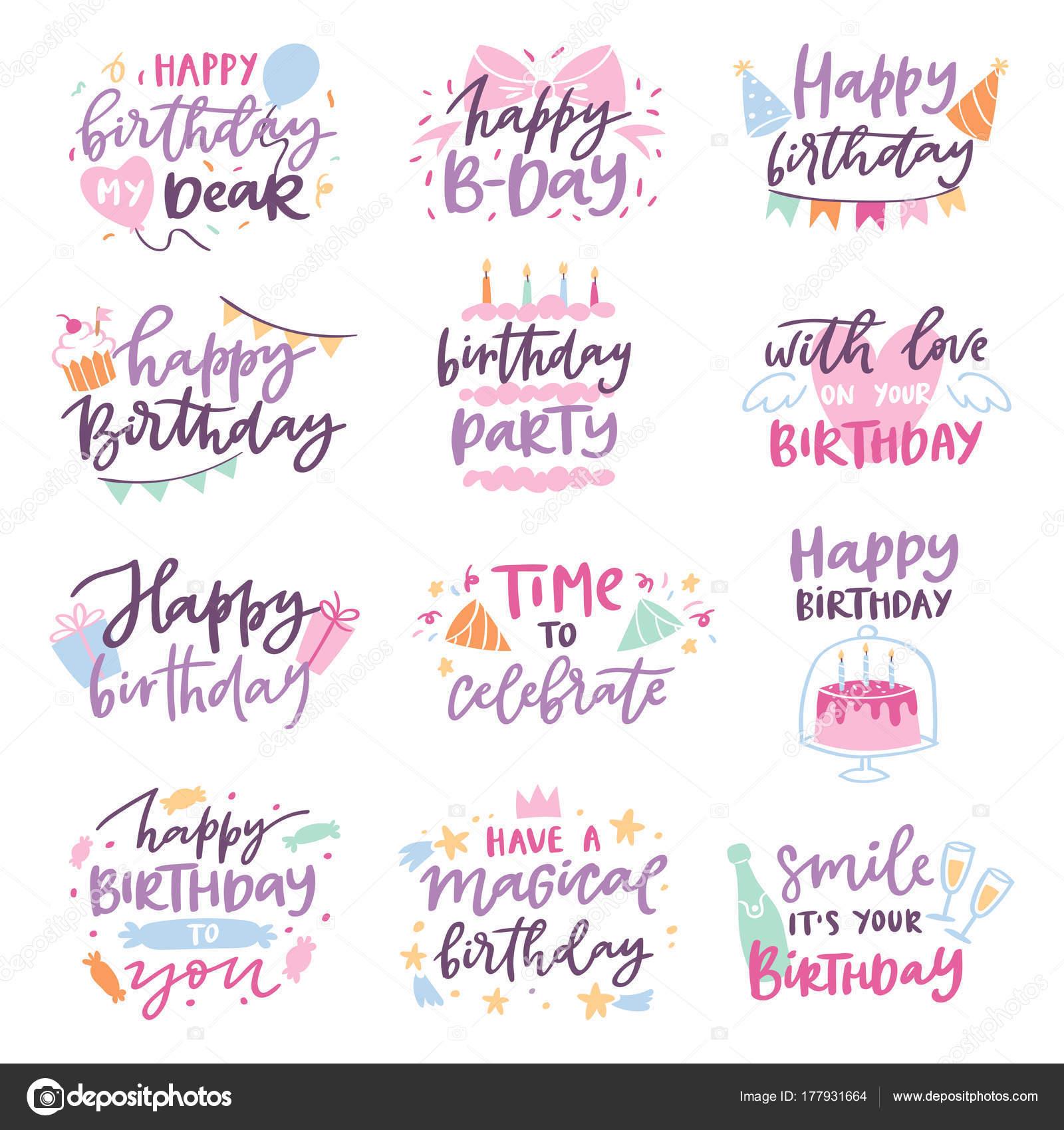 boldog születésnapot idézetek gyerekeknek Boldog születésnapot vektor idézet évforduló szöveg jel típus  boldog születésnapot idézetek gyerekeknek