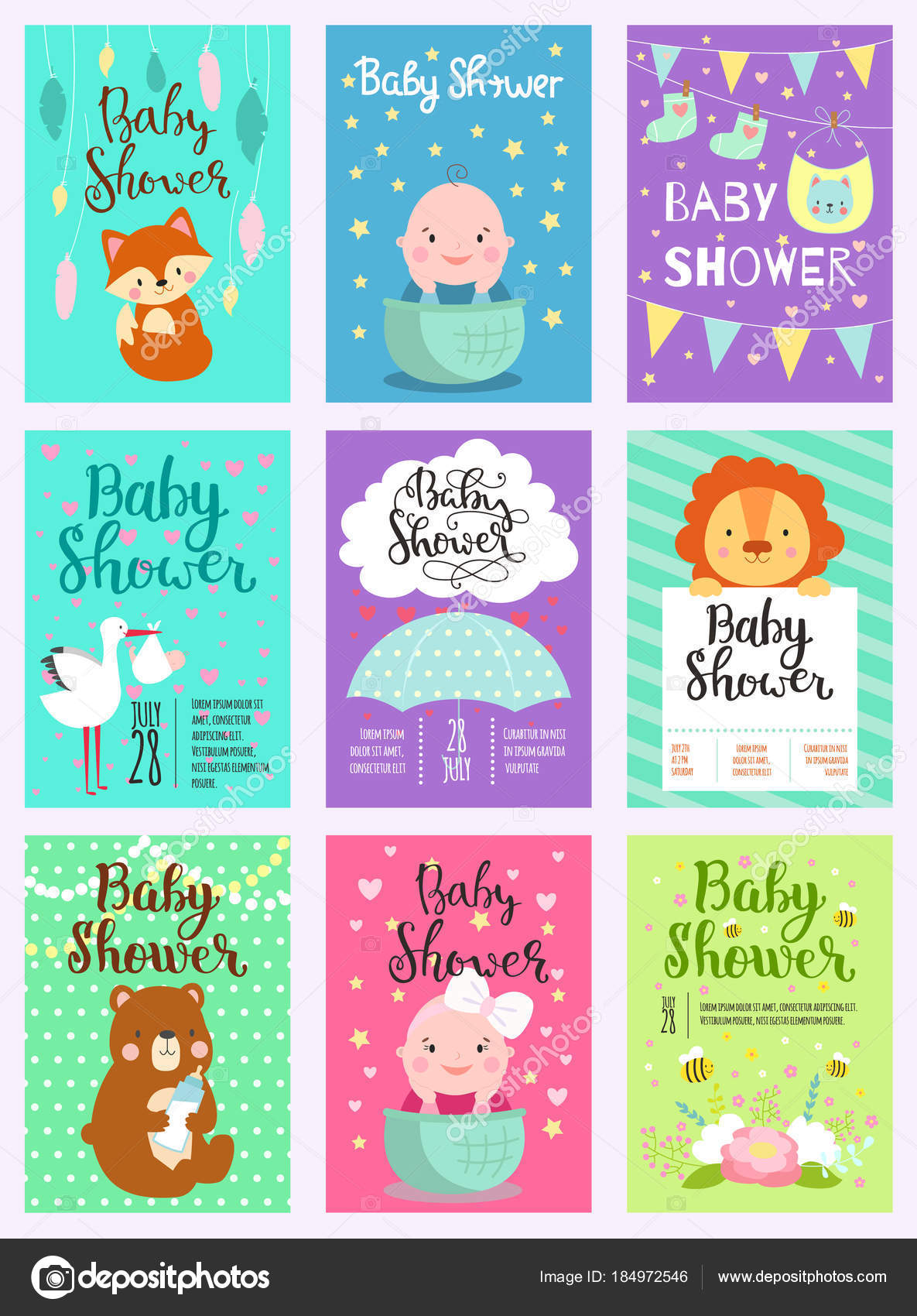 Baby Animal Baby Shower Decorations Baby Shower Design