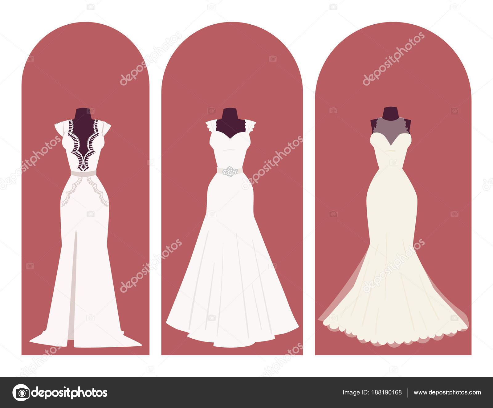 Boda novia vestido de elegancia celebración nupcial ducha ropa ...