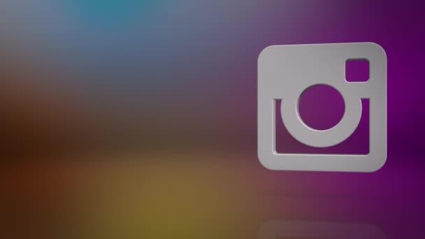Instagram Icon Text Background
