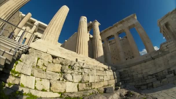 Ruins Ancient Greece Acropolis One Most Important Ancient Monuments