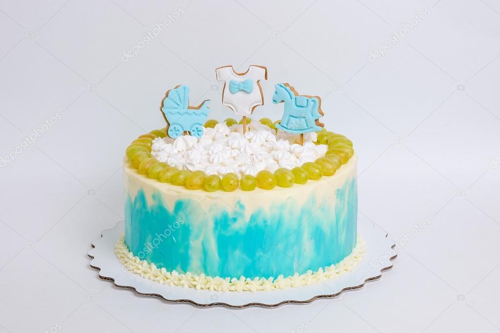 Remarkable Images Baby Boy Birthday Cake Baby Boy Birthday Cake With Funny Birthday Cards Online Alyptdamsfinfo