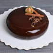 stock-photo-mirror-glaze-chocolate-mousse-cake