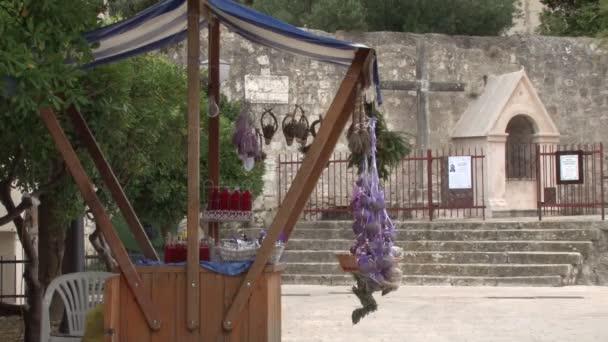 Nápojů a ovocných stánku v Hvar, Chorvatsko
