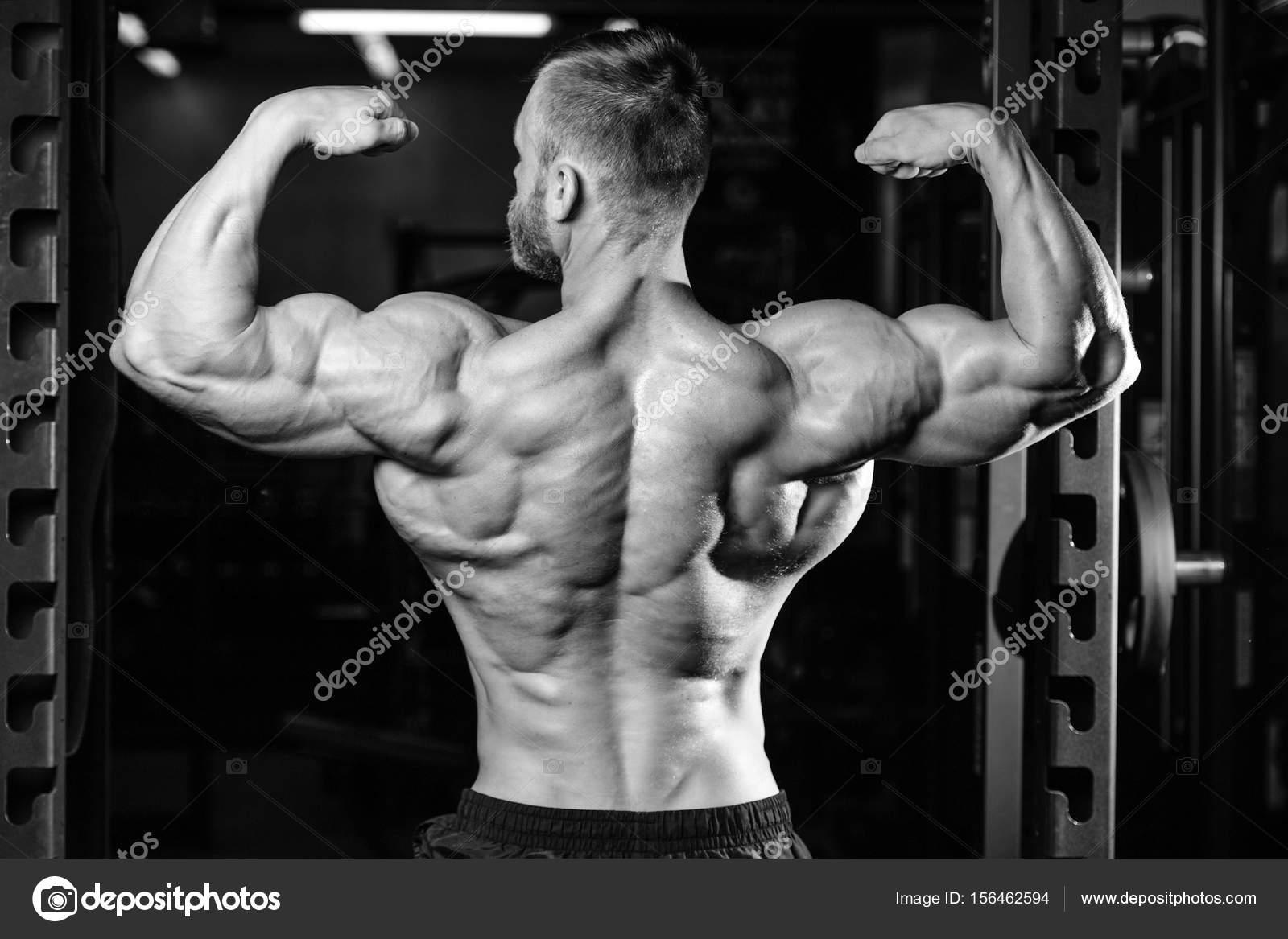 Gut aussehend macht sportlicher Mann Ernährung Ausbildung ...