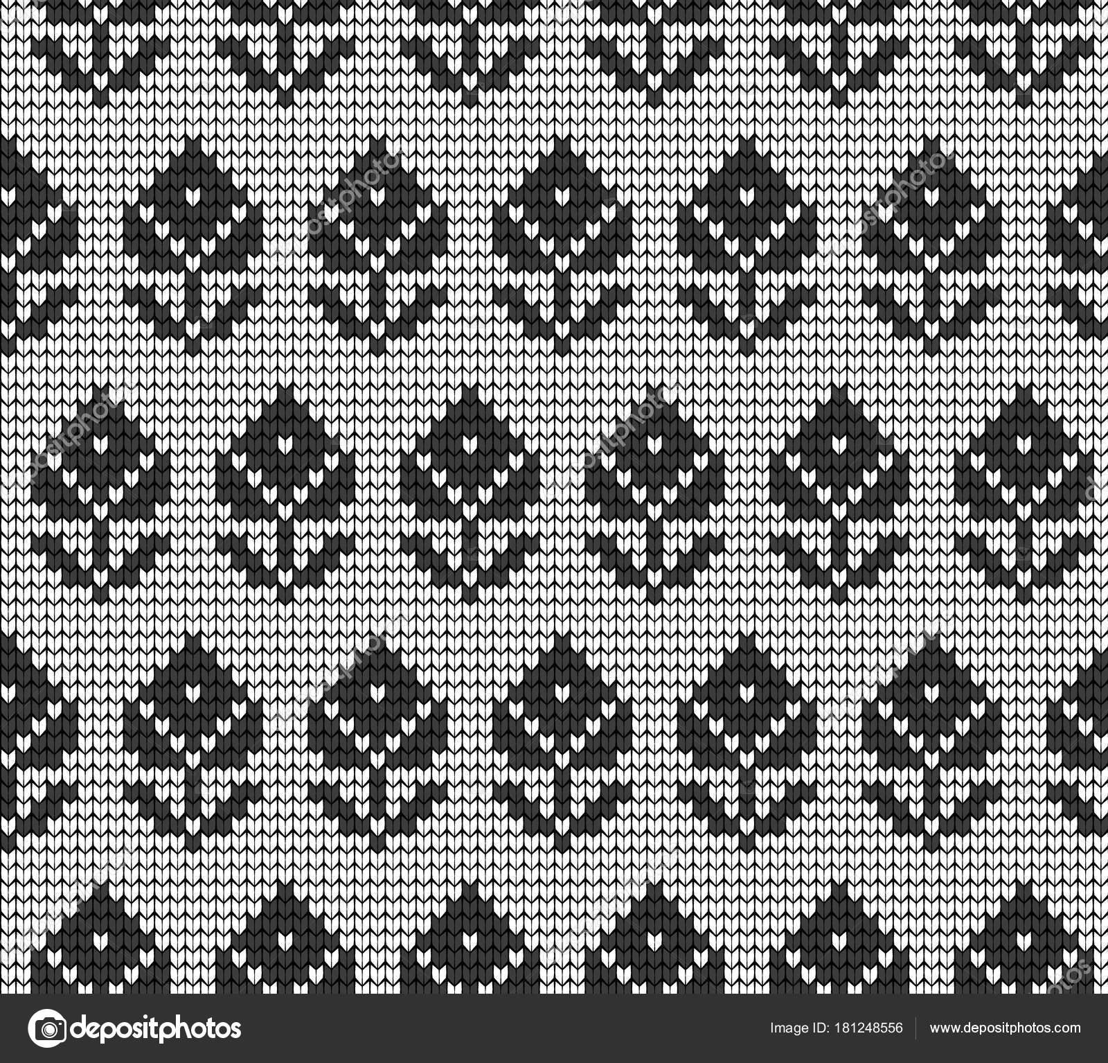 3ef9321719 Kötött téli minta vektor kötöttáru virágmintás — Vektorok pvl0707 ...