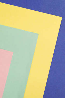 Colored paper cardboard