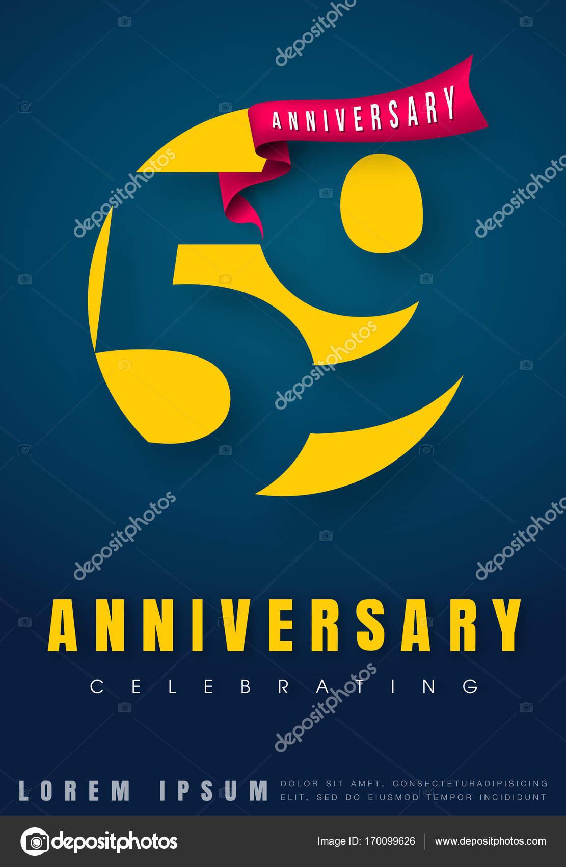 Verjaardag Emblemen 59 Verjaardag Sjabloonontwerp Creatieve Des