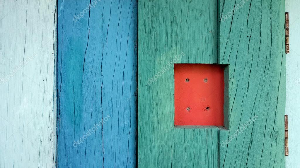Geschilderde houten vloer u2014 stockfoto © leaw197340 #128303124
