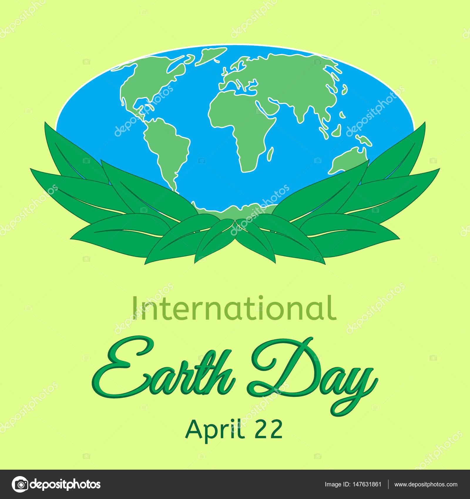 International mother earth day theme globe and green leaves as a international mother earth day theme globe and green leaves as a symbol of environmental and buycottarizona