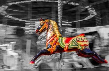 Carousel Horse Motion Blur