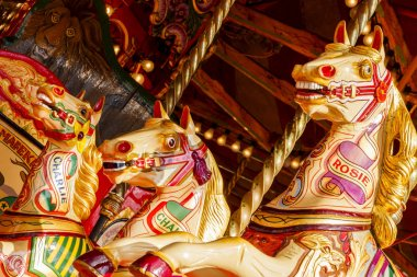 Fun Fair Carousel Horses