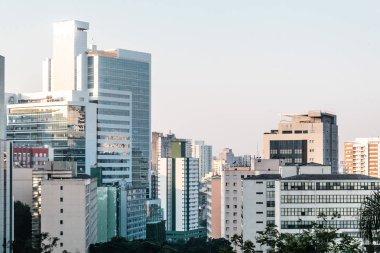 Buildings near Paulista Avenue in Sao Paulo, Brazil