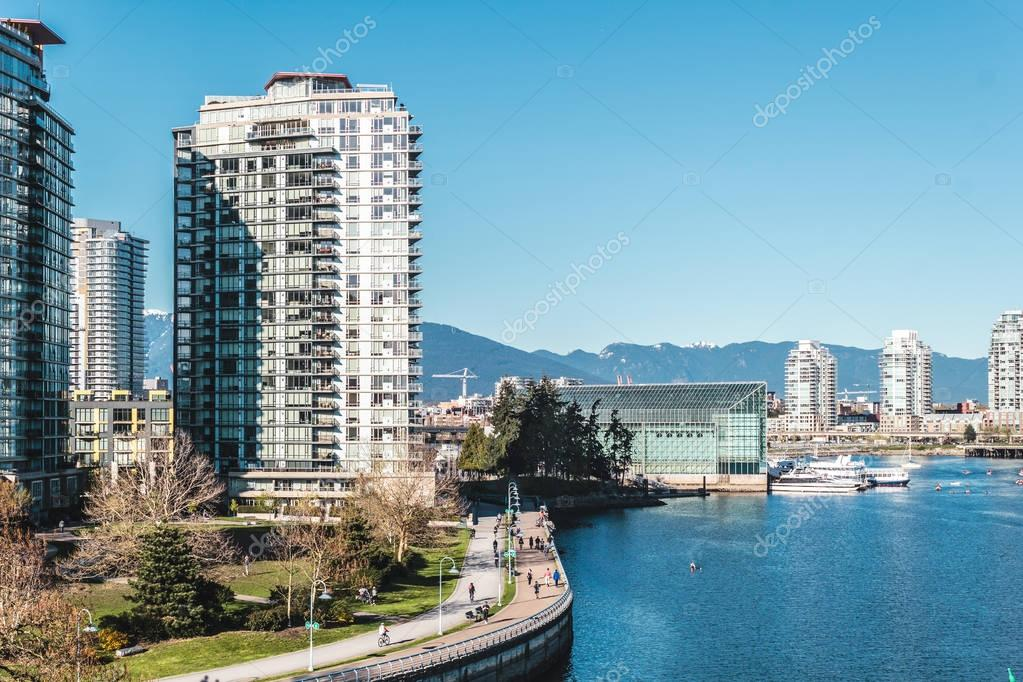 Buildings in Downtown Vancouver, BC, Canada