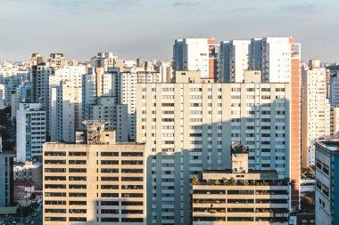 Buildings near Paulista Avenue, in Sao Paulo, Brazil (Brasil)