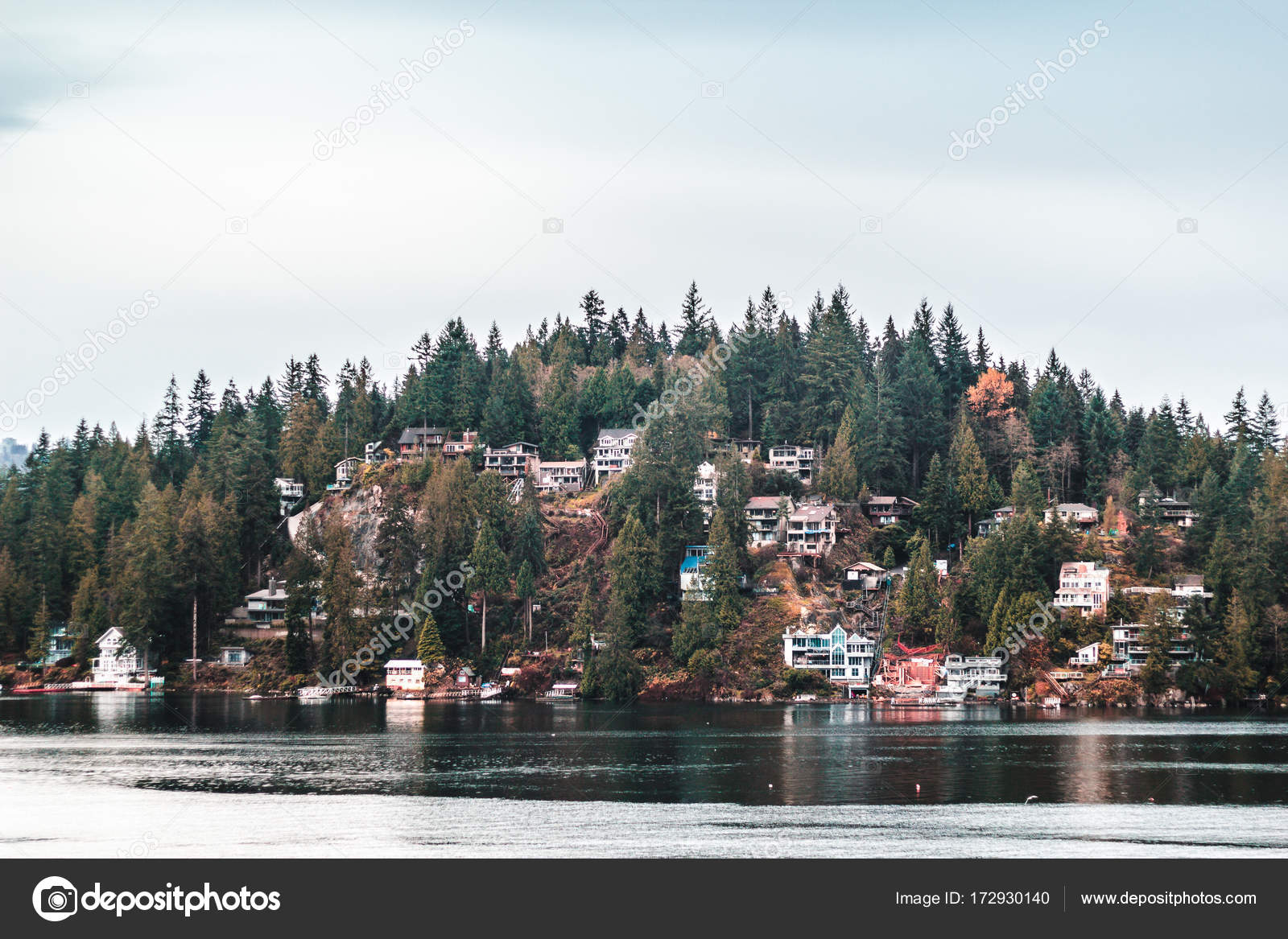Deep Cove In North Vancouver BC Canada Stock Photo