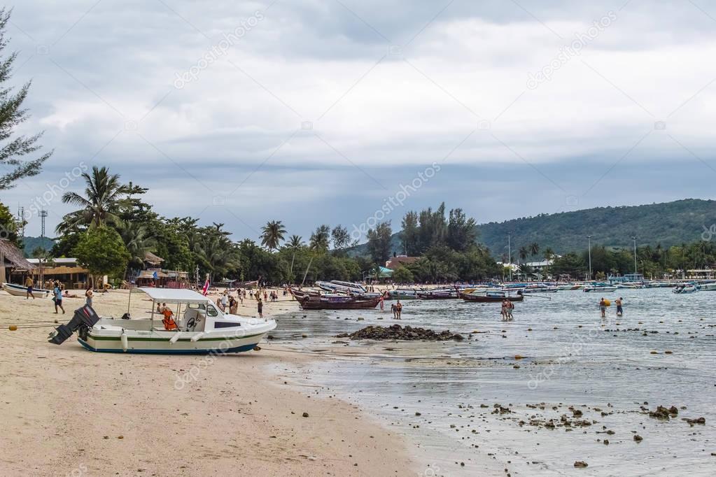 Near Phi Phi Islands in Thailand