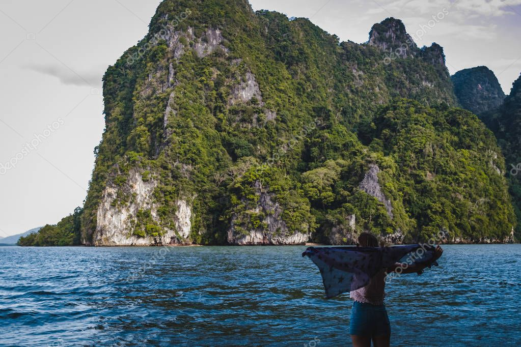 Islands of Phang Nga Bay in Thailand