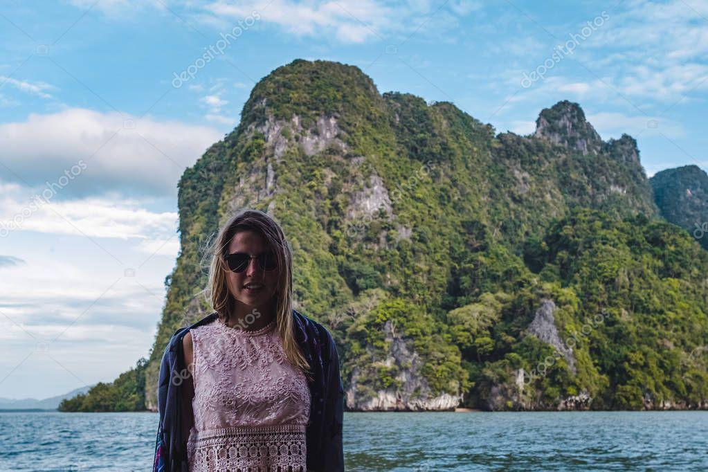 Islands of Phang Nga Bay in Thailand