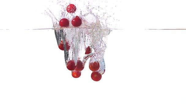 Cherry rajčata vstupu vody